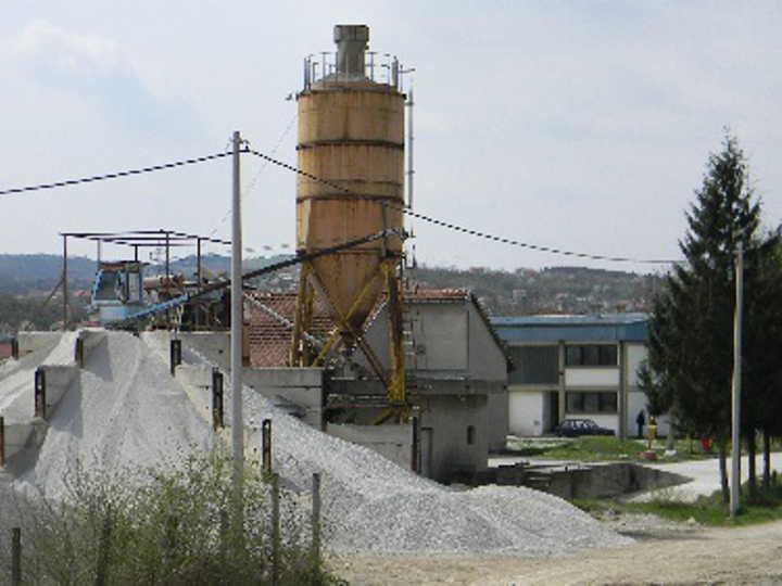 Betonska baza i mehanizacija