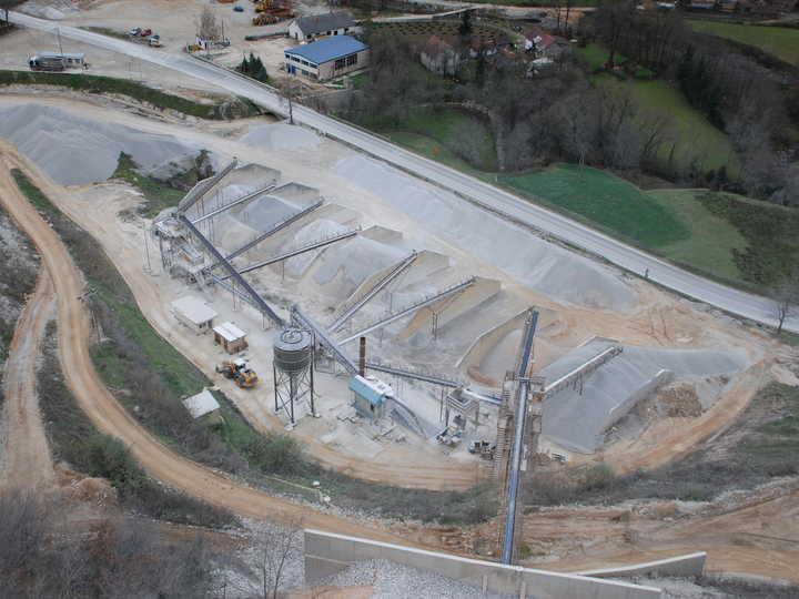 Proizvodnja kamenih agretata i betona
