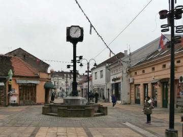 Sat u Knez Miloševoj ulici